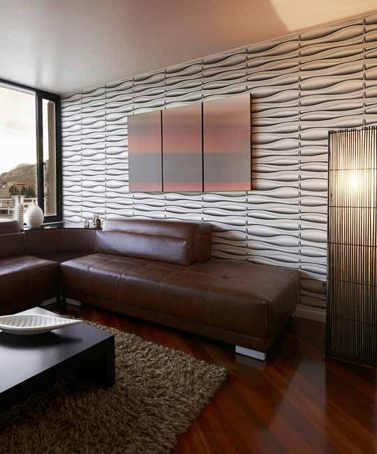 Peel Stick Plastic Wall Panel Lava Design 12 Panels 32sf In