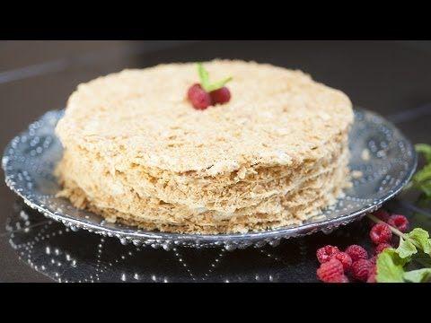 rezept russische napoleon torte selber backen youtube kuchen pinterest torte no bake. Black Bedroom Furniture Sets. Home Design Ideas