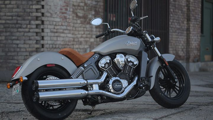 The All New Indian Scout In Silver Smoke With Images Indian