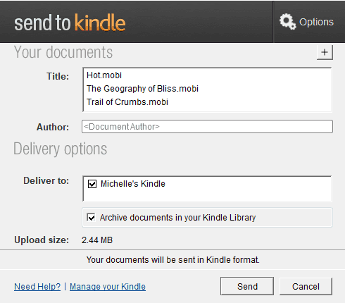3 Best Ways to Send Books from Mac to Kindle