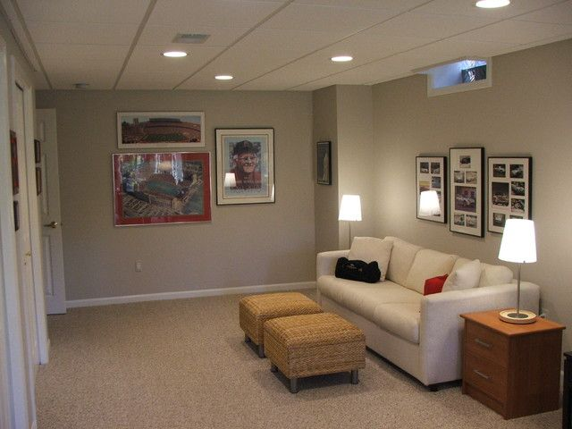 Small Finished Basement Ideas Prepossessing With Image Of Basement