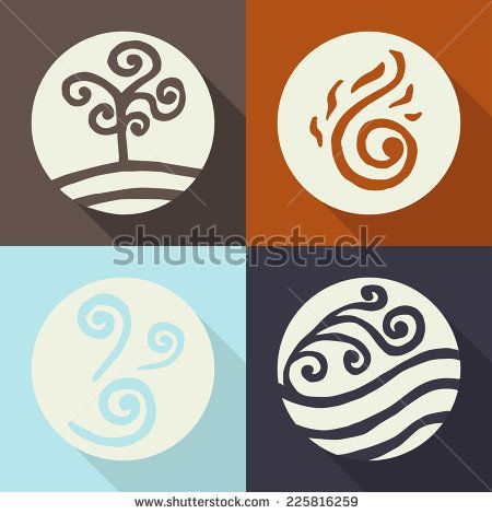 4 Elements Symbols Free Vector For Free Download About 11 Free