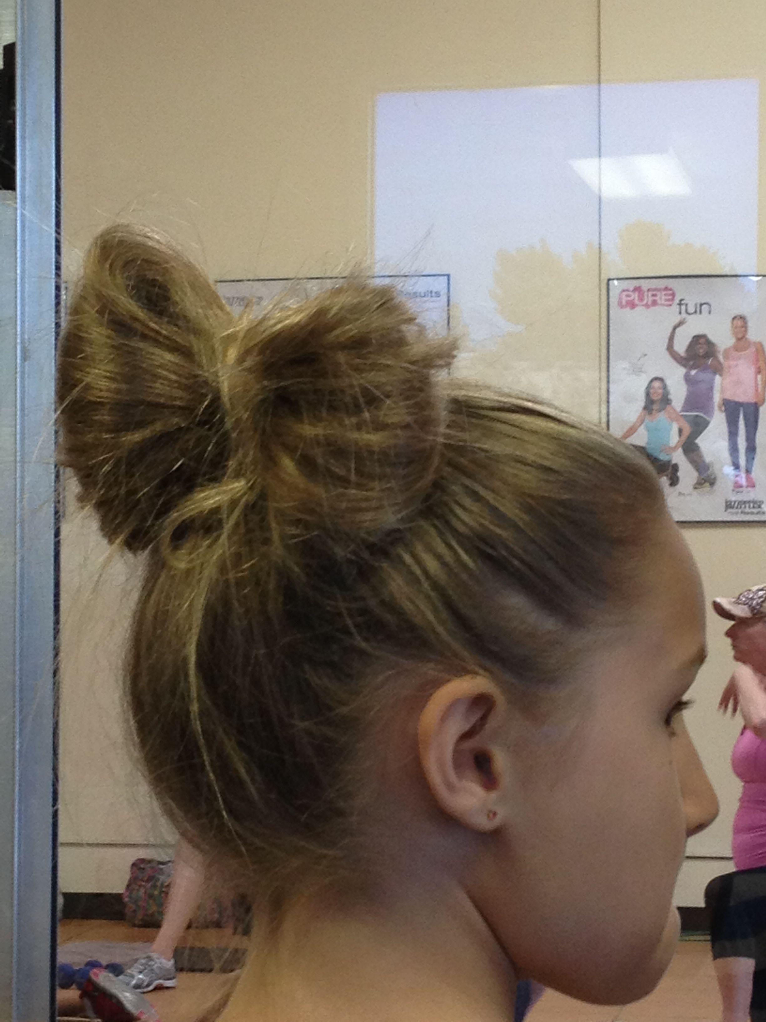 Lady gaga bow bun small people hair pinterest bow buns