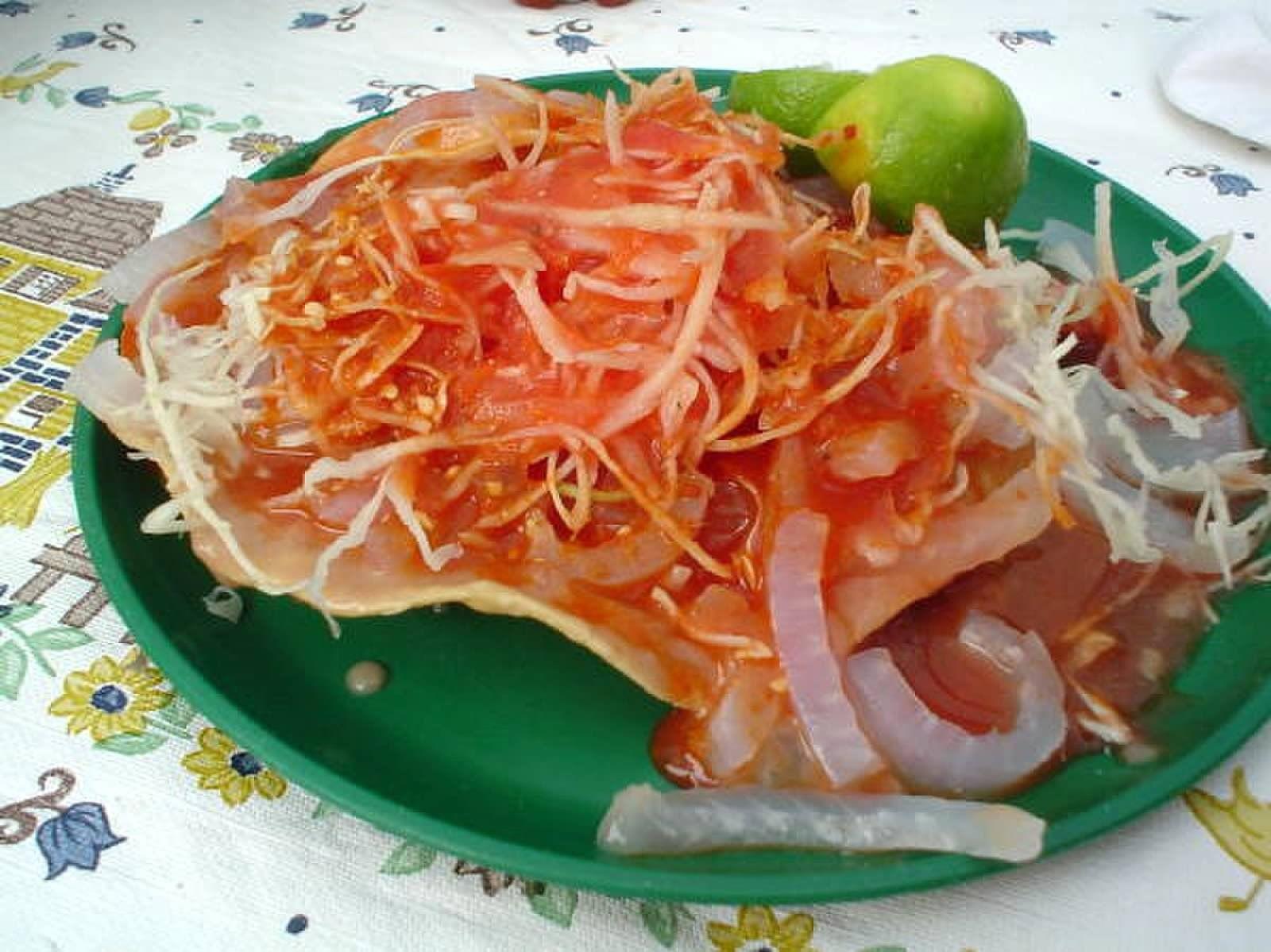 Tostada De Cueritos Mexican Food Recipes Food Good Food