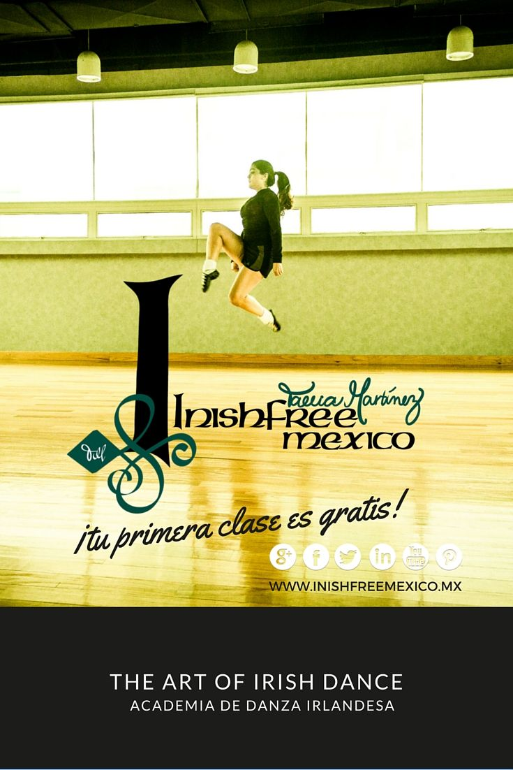 We have a place reserved for you!...  Come to visit us! #InishfreeMexico  Tania Martínez  #IrishDancer  #inishfreeTeam  #Inishfree School of #IrishDancing   #Academia de #DanzaIrlandesa  #InishfreePedregal  #InishfreeToluca ✨ #IrishDancer  #Winishfree #Danza #Dance #SoftShoes
