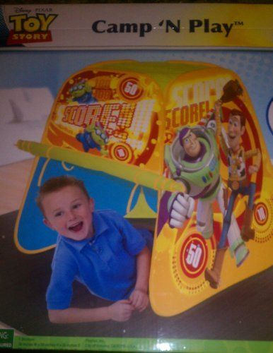 Disney Pixar Toy Story C& u0027N Play Tent by Playhut. $18.25  sc 1 st  Pinterest & Disney Pixar Toy Story Camp u0027N Play Tent by Playhut. $18.25 | Kids ...