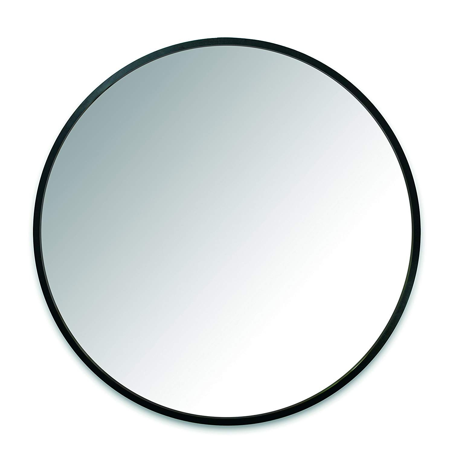 Amazon Com Umbra Hub Wall Mirror With Rubber Frame 37 Inch Round Wall Mirror For Entryways Washrooms Livi Round Wall Mirror Mirror Wall Framed Mirror Wall