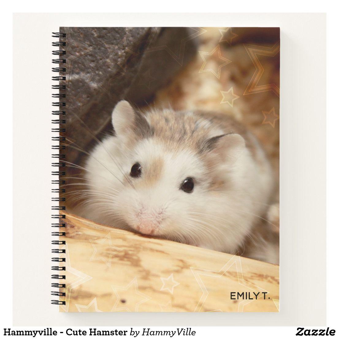 Hammyville Cute Hamster Notebook Hamster Cute Cuteanimals Cutehamster Hammyville Notebook Cute Hamsters Hamster Notebook Features