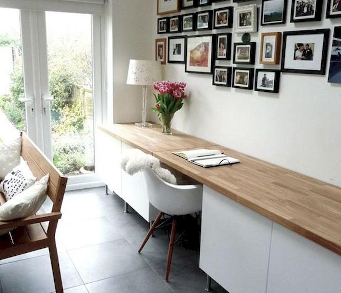 Awesome workspace bedroom ideas (3)  Ikea home office, Ikea home