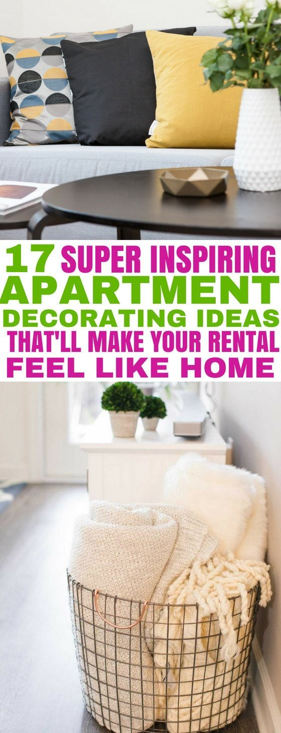 17 Inspiring Apartment Decorating Ideas You'll Want to Copy images