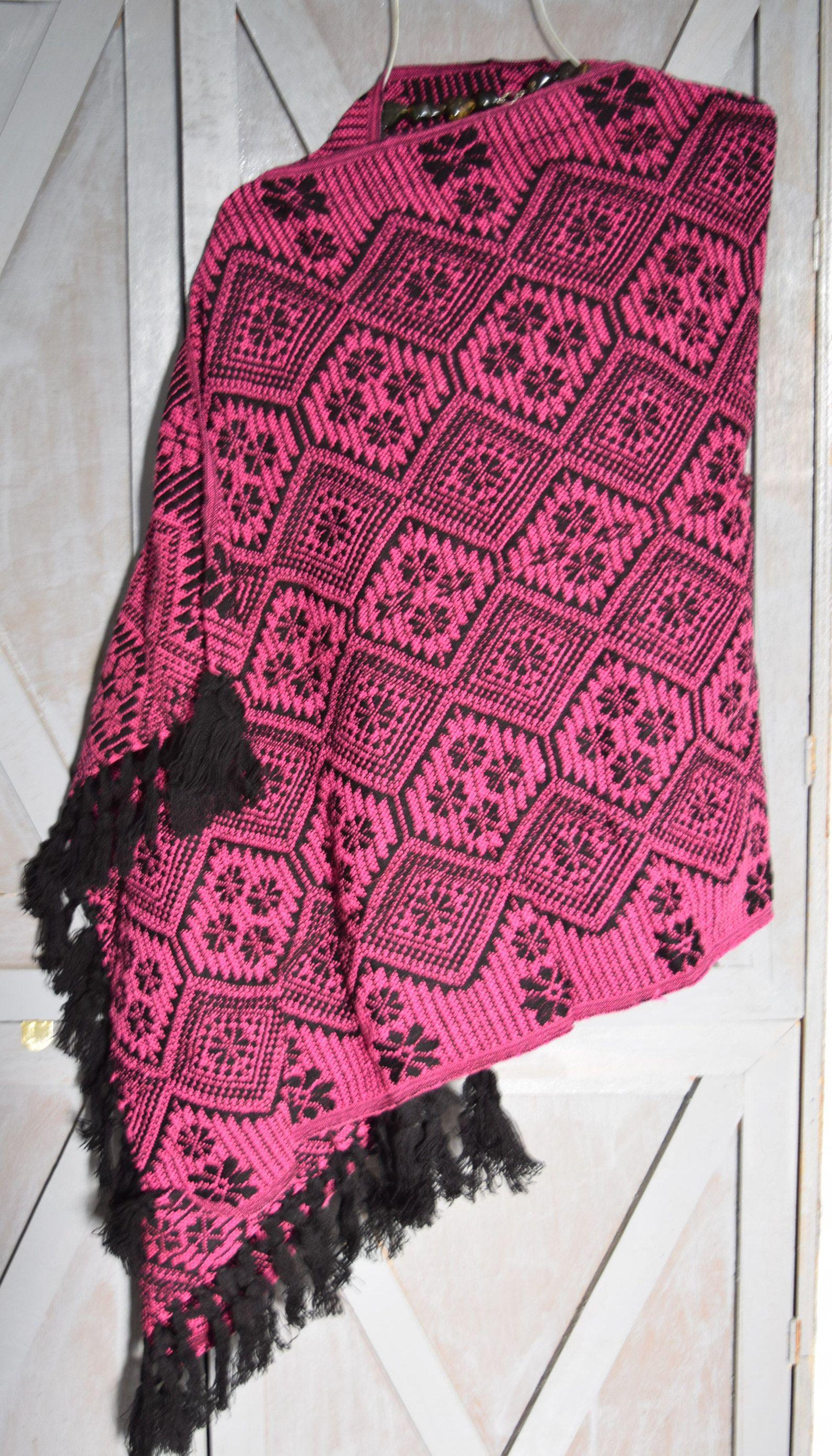 08879e2d1b2a0 Rebozo  Chal de Chiapas elaborado en telar   hecho a mano   mexican party    fiesta mexicana   boho chic   mexican fabric   artesanía mexican de ...
