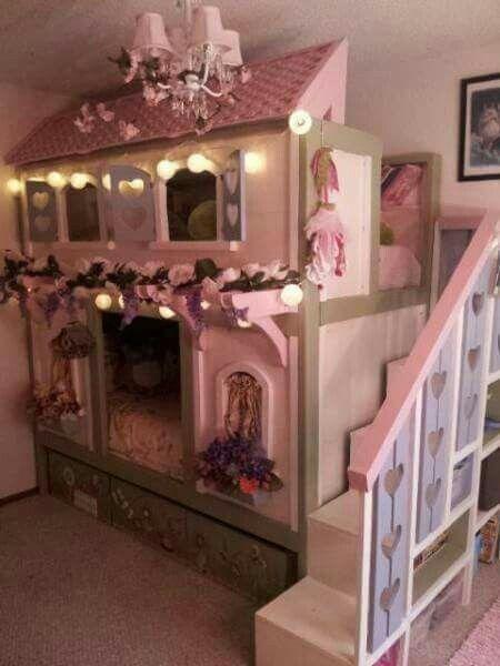 Cama doble diseño de casa Kids rooms Pinterest Cama doble