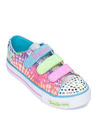 7f84e43387ef Skechers Twinkle Toes Peace N  Love Light-up Sneakers  Kids  Shoes ...