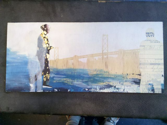 Laser collage san francisco from the water by rachelyra, via Flickr