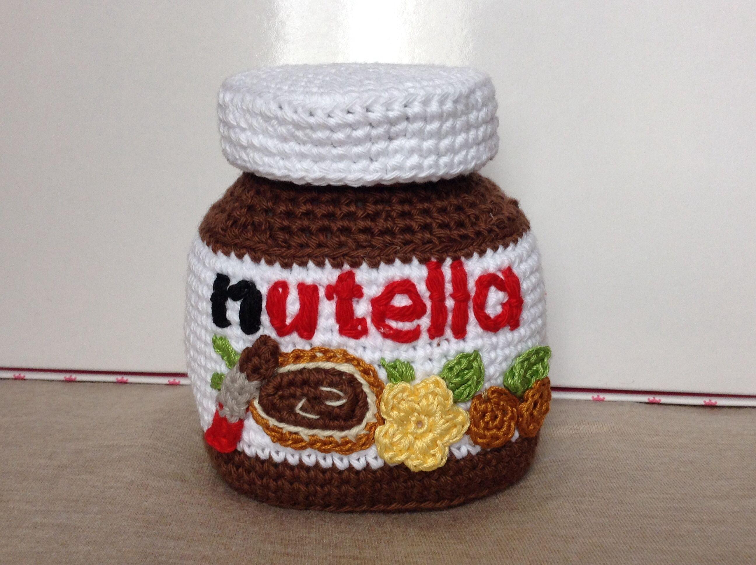 Nutella crochet #amigurumi #sweet #chocolate ganchillo sehr schöne ...
