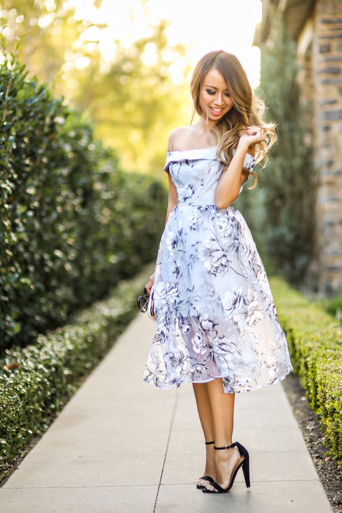 Petite fashion blog lace and locks los angeles fashion for Spring wedding dress guest