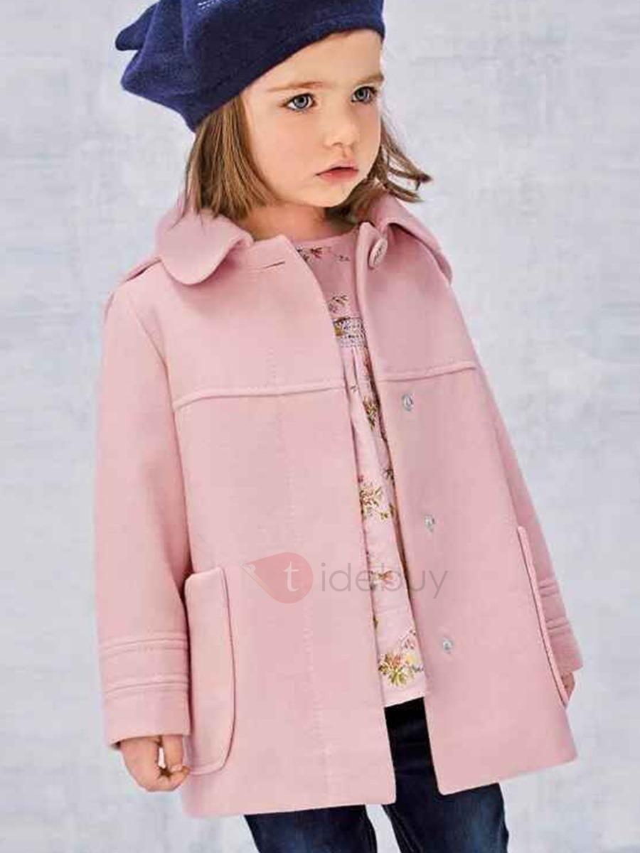 Elegant Open-Front Pocket Girls Coat | Elegant, Fashion designers ...