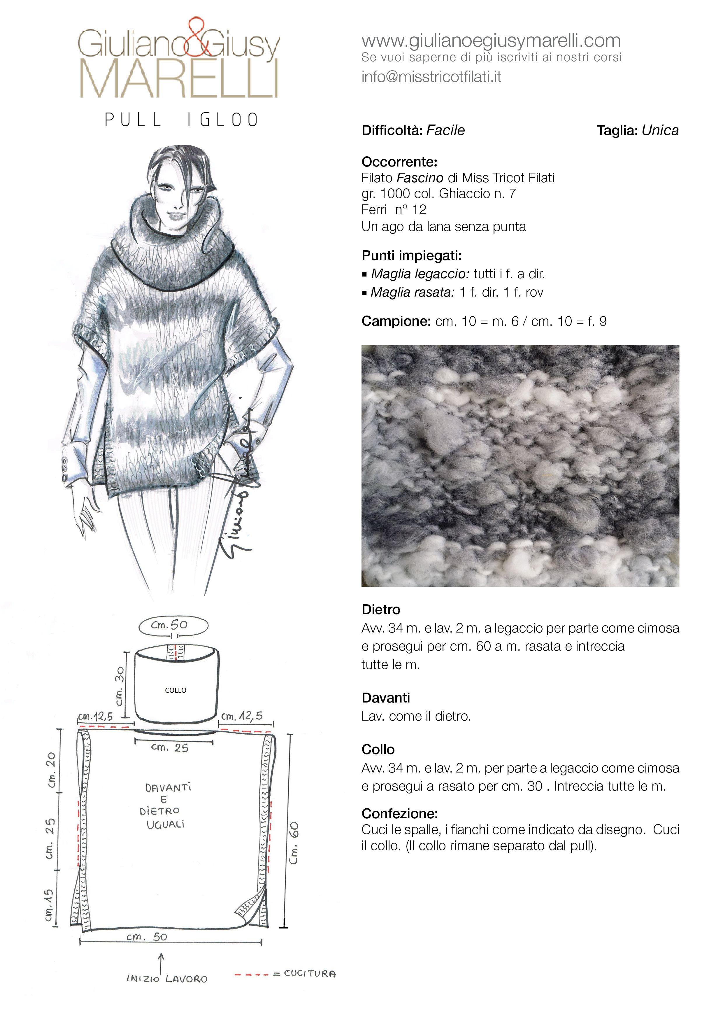 Tutorial+Pull+Igloo.jpg (2480×3508) | Knitting | Pinterest | Ponchos ...