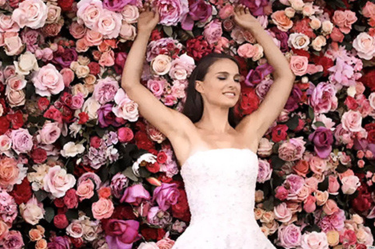 Vintage Wedding Dresses Reno: Miss Dior Natalie Portman Commercial