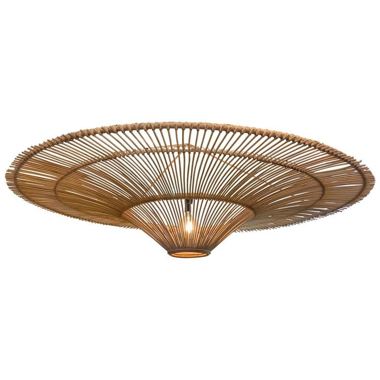 Extra Large Bamboo Chandelier Indonesia Contemporary