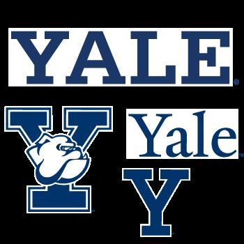 Yale University Replay Peels Yale Logo Peel Yal Peel X 00001lg Png 350 350 University Logo Yale College Football Teams