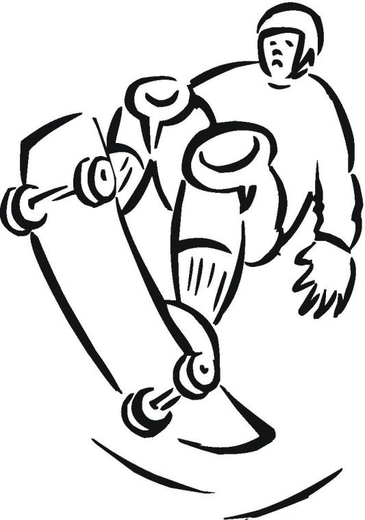 Longboard Coloring Pages Google Search Vbs 2015 Pinterest Skateboard Coloring Pages