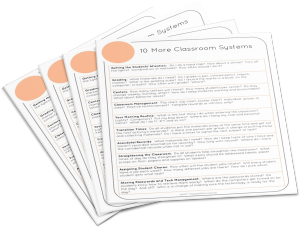 10 Classroom Systems You Need to Be Using Right Now (With