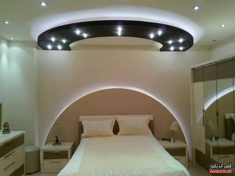 ديكور جبس غرف نوم للاسقف Bedrooms Ceiling Design Design