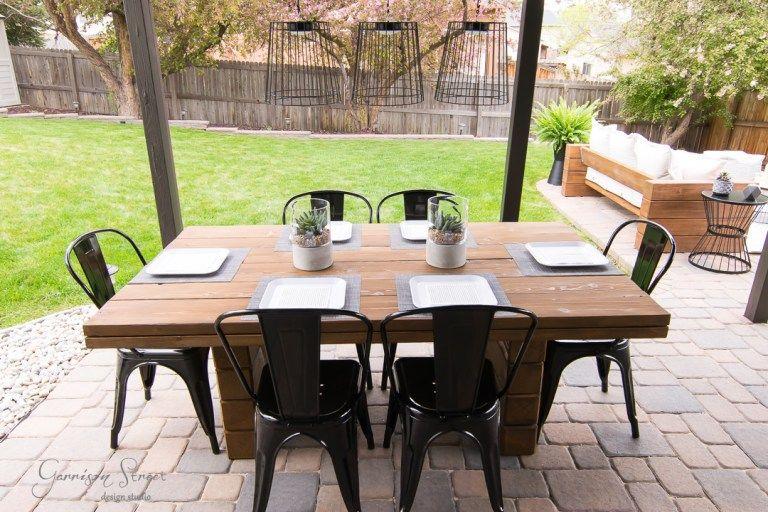 Epingle Sur Table De Jardin