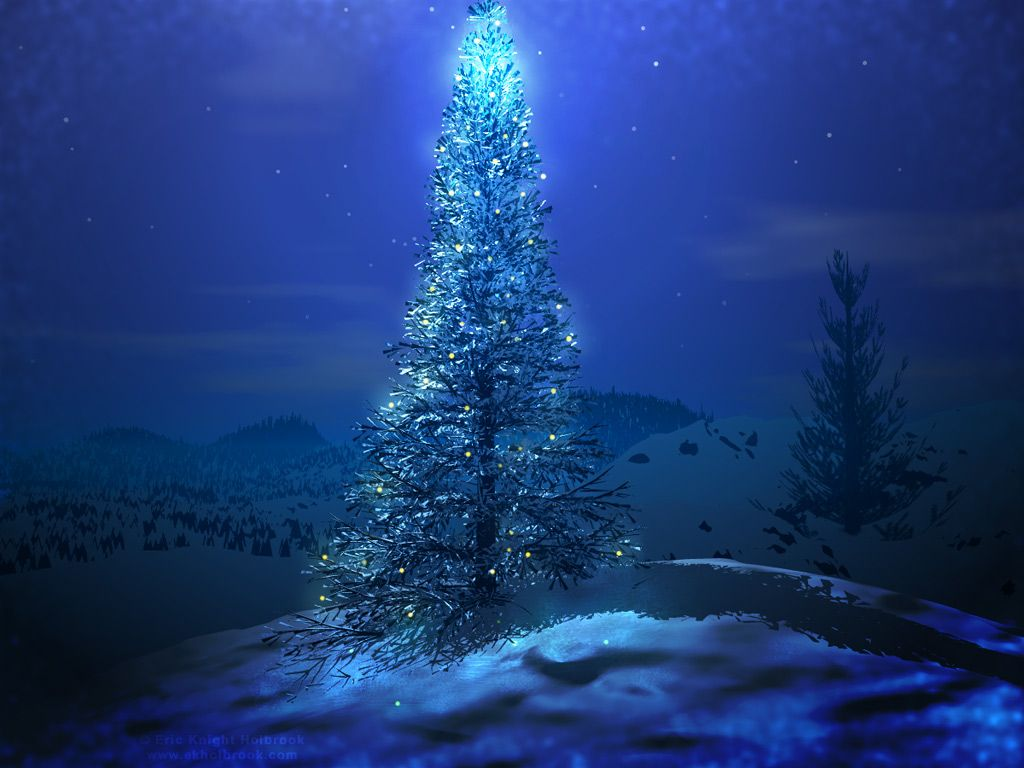 Christmas Hd Desktop Wallpaper Cool Hd Christmas Tree Wallpaper Blue Christmas Tree Beautiful Christmas Trees