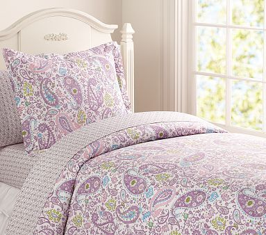 Olivia S New Bedding For Her Big Girl Bed Brooklyn Duvet