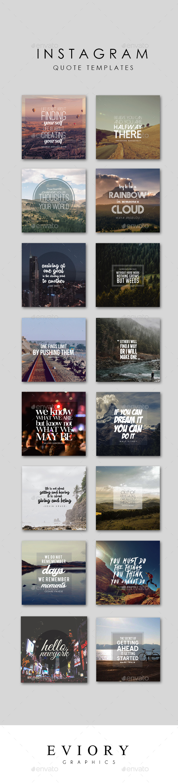 Instagram Quote Templates | Instagram quotes, Template and Social ...