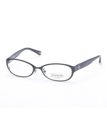 This Satin Black Ashby Eyeglasses is perfect! #zulilyfinds