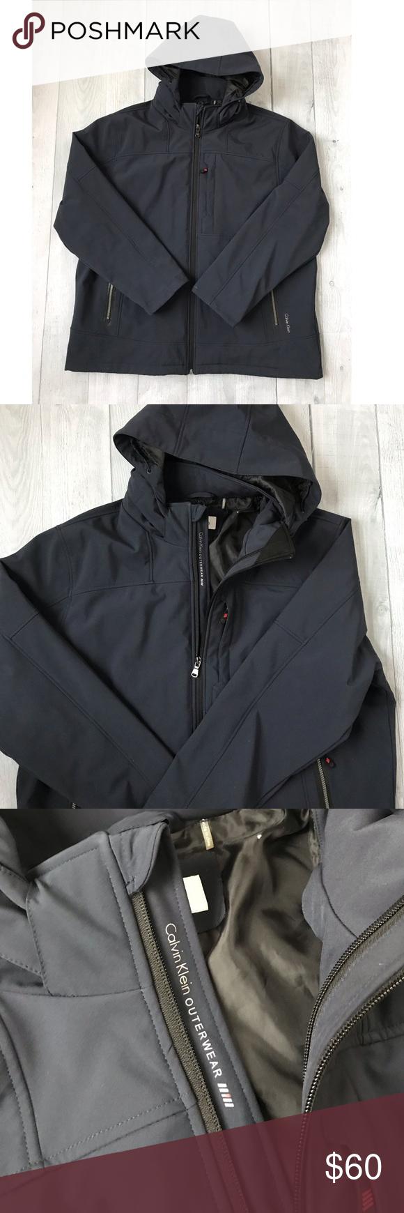 Calvin Klein Outerwear Men S Xl Jacket Navy Calvin Klein Outerwear Jackets [ 1740 x 580 Pixel ]