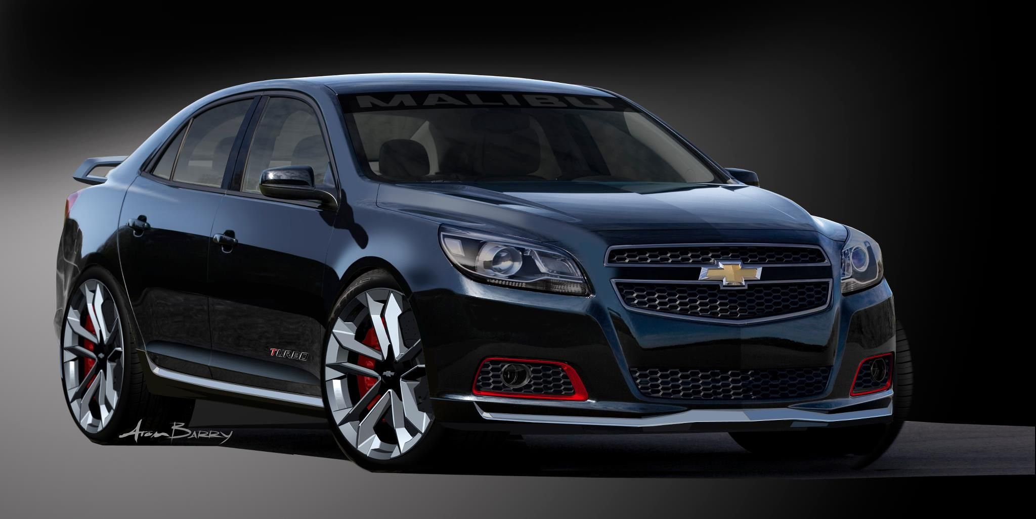 2013 Chevrolet Malibu Turbo Concept Car Chevrolet Malibu