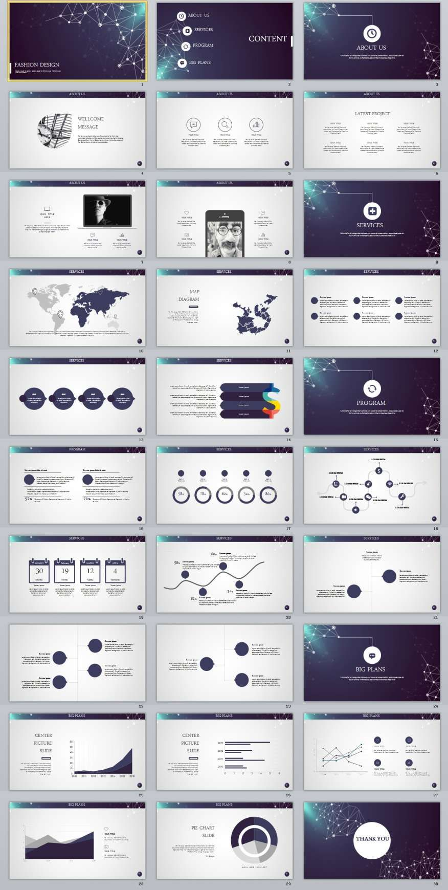 30+ best business plan powerpoint template | powerpoint templates, Modern powerpoint