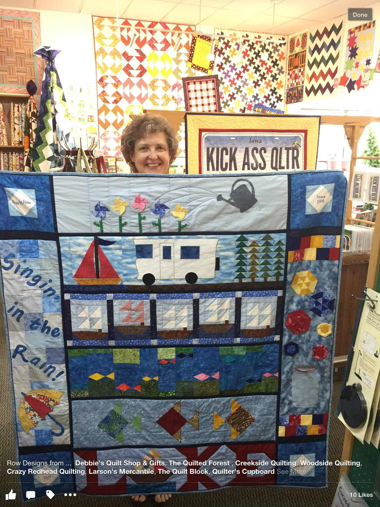 Iowa Rows Row Quilt Row By Row Experience Quilt Shop
