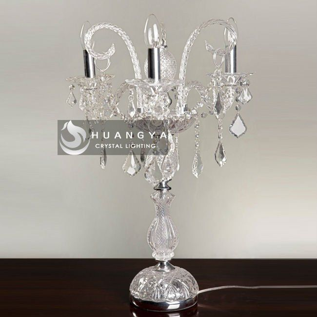 Table Lampcrystal Chandelier Table Lamp Future Living Room - Chandelier table lamps crystals