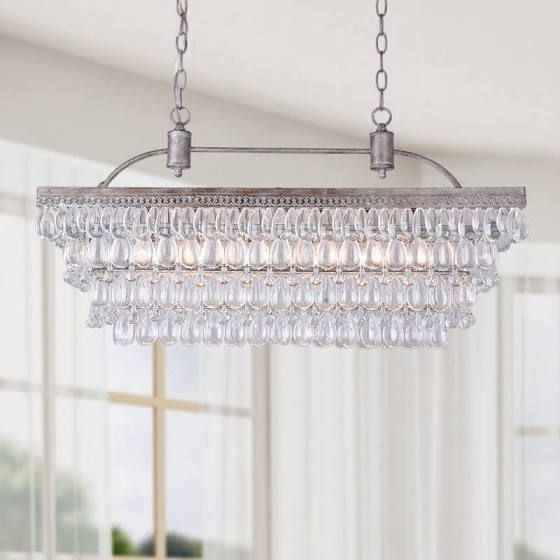 Rectangle Hanging Chandelier