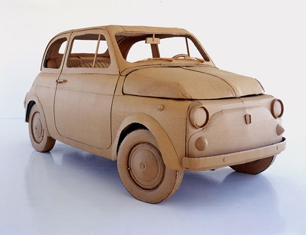 Chris Gilmour Cardboard Car
