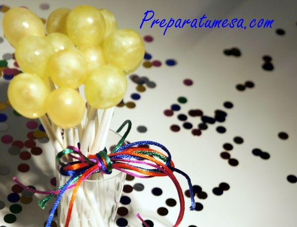 Cómo presentar las uvas en fin de año!   Christmas   Pinterest   La ...