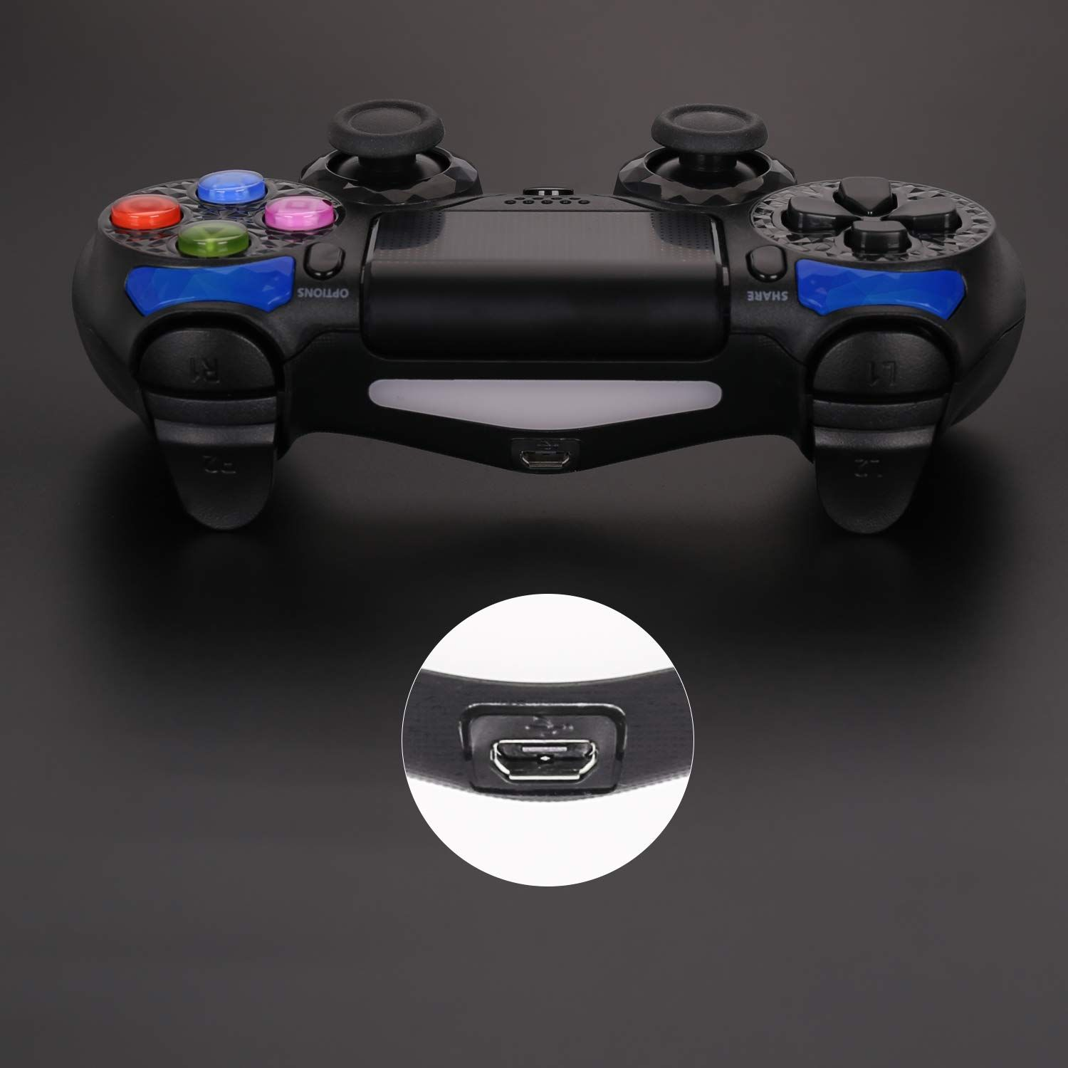 PS4 DUAL SHOCK WIRELESS CONTROLLER USB CHARGER CABLE LEAD