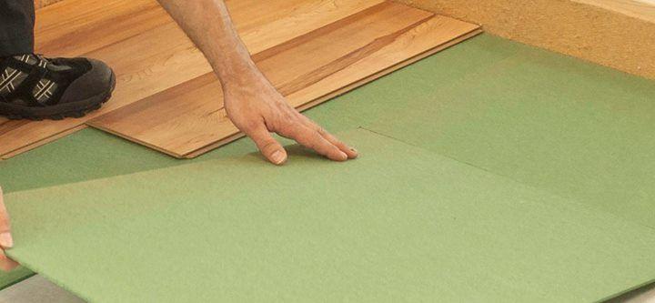 Like Laminate Floors Glueless Wood Floors Are Floated During
