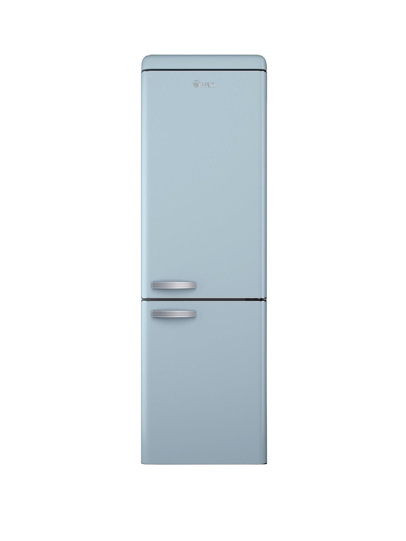SR11020BLN 60cm Retro Fridge Freezer - Blue | Retro fridge, Retro ...