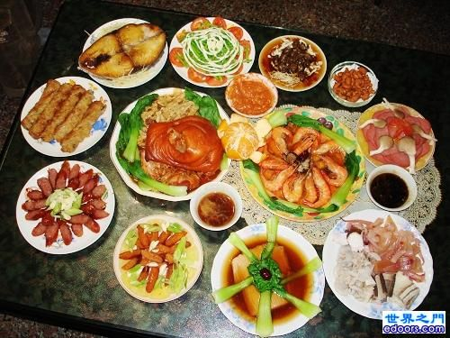 traditional chinese new year eve dinner - Traditional Chinese New Year Food