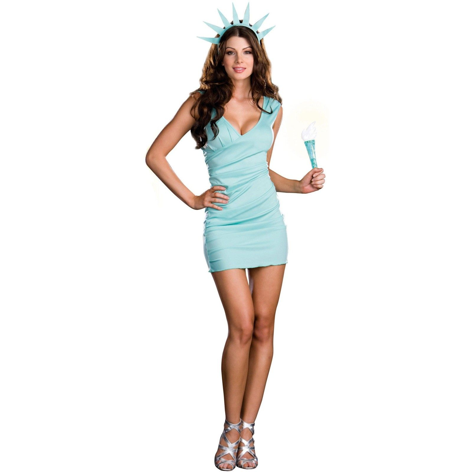 miss liberty adult costume | costumes
