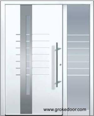 modelo de puerta de aluminio para entrada principal