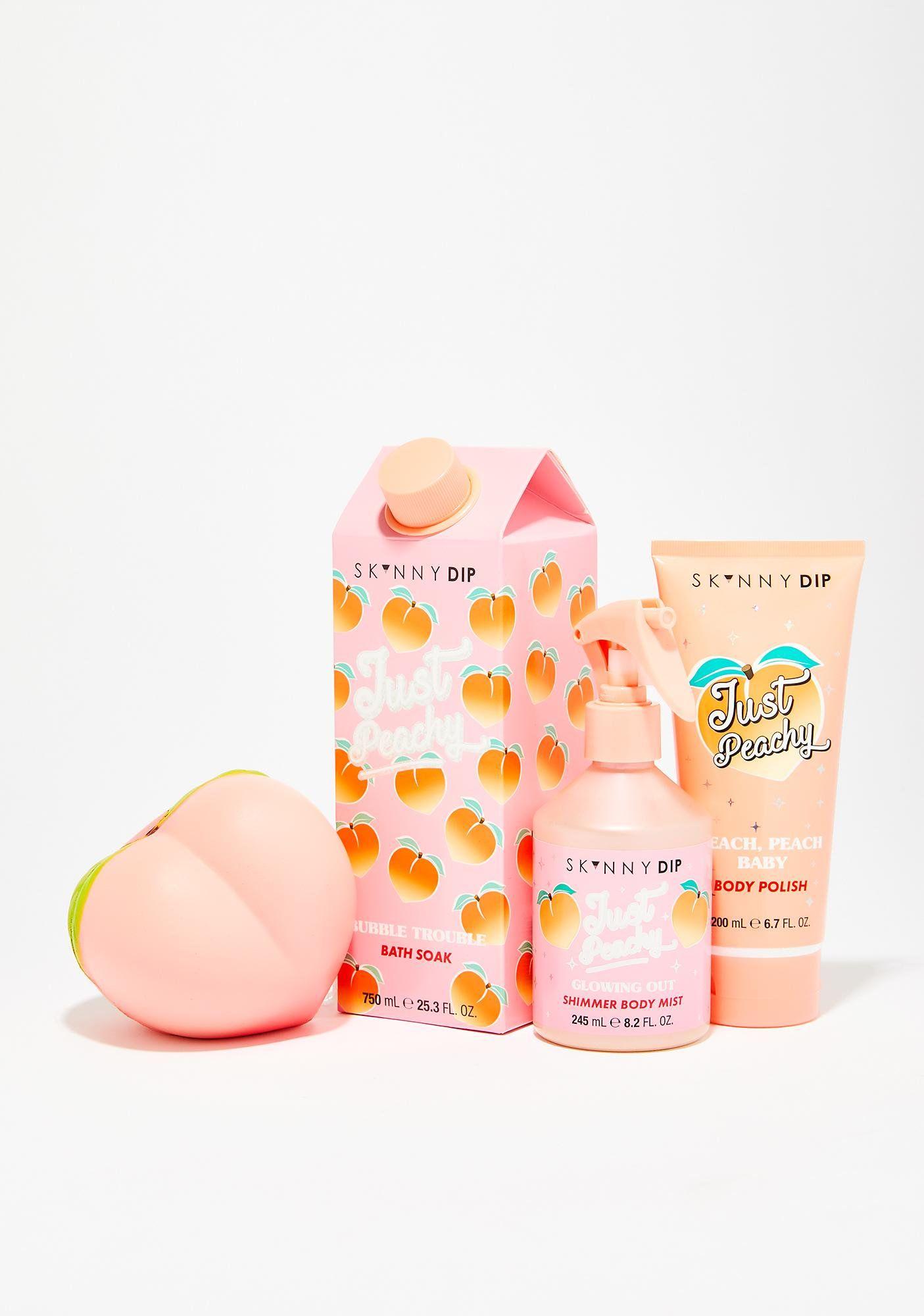 Skinnydip Just Peachy Bath Soak Peachy Bath Soak Just Peachy