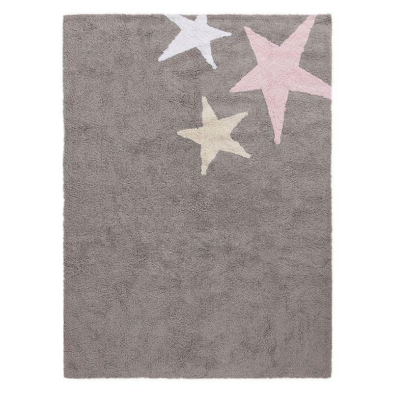 lorena canals teppich kinderteppich dunkelgrau pink wolle | ideen, Schlafzimmer