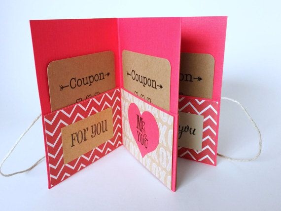 Valentines Coupon Book Love Coupon Book By Simplyyhandmade On Etsy